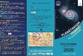 Bouton pour afficher le programme du premier semestre 2020
